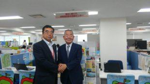 茅野市長と高橋理事長